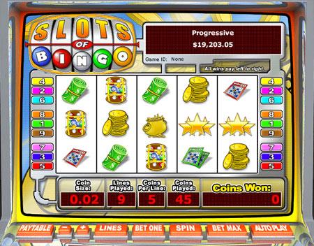 jet bingo slots of bingo 5 reel online slots game